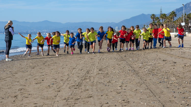 Primary Inter House Cross Country Competition